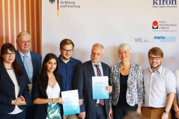 Kiron Univercity - BMBF funding - LNE Group