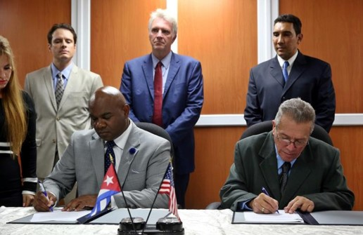 Port of Cleveland Signs Memorandum of Understanding with Cuban Maritime Administration